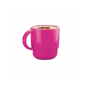 Tupperware Caneca Taza Milano 280ml Rosa