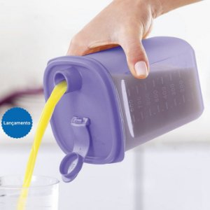 Tupperware Guarda Suco Slim 1 Litros Lilás