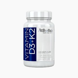 VITAMIN D3 + K2 (60caps) - Atlhetica Clinical Series