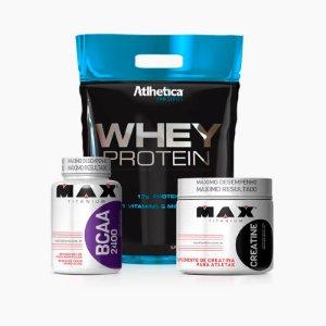 Kit Whey Pro Series 1,8kg - Atlhetica Nutrition