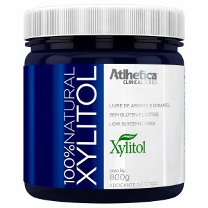 100% Natural Xylitol (800G) - Atlhetica Clinical Series