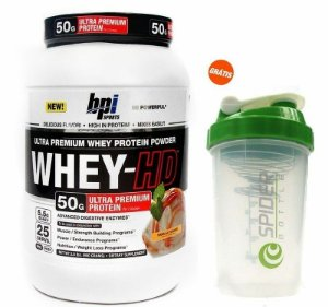 Whey HD (950g) + Spider Bottle 700ml - BPI Sports