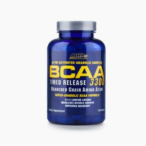 BCAA-SR Timed Release 3300 (120 Tabs) - MHP