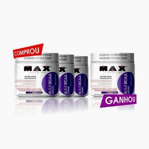 BCAA Drink (280g) - Max Titanium (Compre 3 LEVE 4)