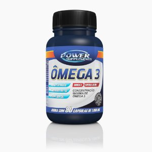 Omega 3 - 500mg (140caps) - Power Supplements