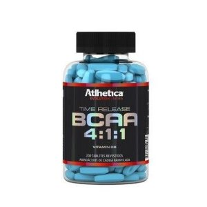 BCAA Time Release 4:1:1 (200 Tabs) - Atlhetica Nutrition