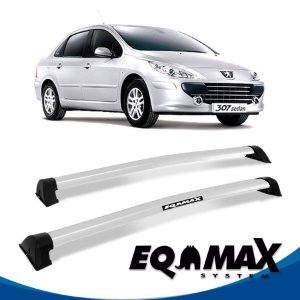 Rack Peugeot 307 4P Sedan Wave 02/12 prata
