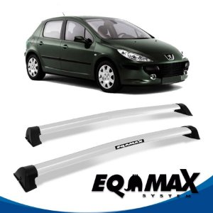 Rack Eqmax Peugeot 307 Hatch 4P Wave 02/12 prata
