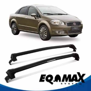 Rack Eqmax Fiat Linea 4P New Wave 09/13 preto