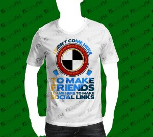 Camisa - Persona - I'm here to make social links