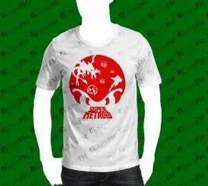 Camisa Metroid - Battle in the Shadows