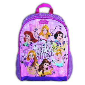 Mochila De Costas Princesas Dream Infantil Escolar (37216)