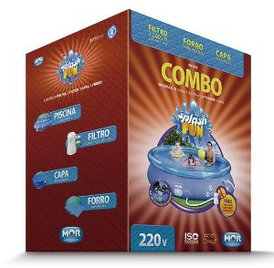 Piscina Redonda 4600l Splash Fun 2200 L/h COMBO
