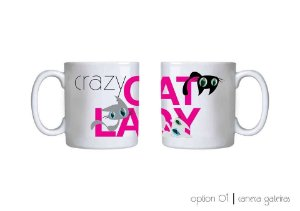 Caneca Crazy Cat Lady