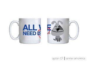 Caneca All we Need is Love 1