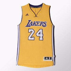 Regata Adidas Swingman Lakers Home Kobe Briant