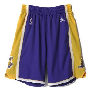 Short Adidas Nba Swingman Laker