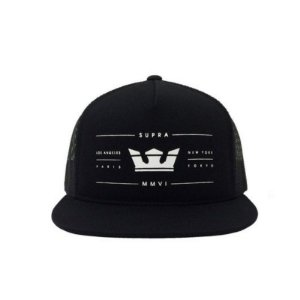 Boné Supra Snapback Renowned-Preto