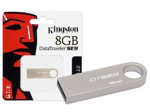 Pen Drive Kingston Usb 2.0 DataTraveler Modelo Dtse9h 8GB