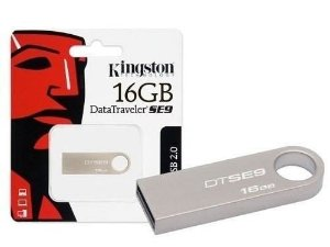 Pen Drive Kingston Usb 2.0 DataTraveler Modelo Dtse9h 16GB