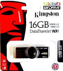 Pen Drive Kingston Usb 2.0 DataTraveler Modelo 101 16GB