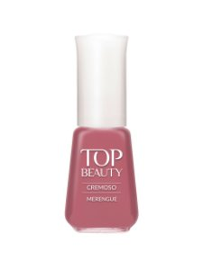 Esmalte Top Beauty |Cremoso Merengue