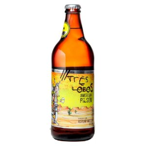 Cerveja Backer 3 Lobos American Pilsen - 600 ml