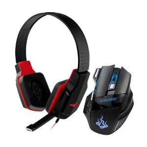 COMBO MOUSE E HEADSET GAMER