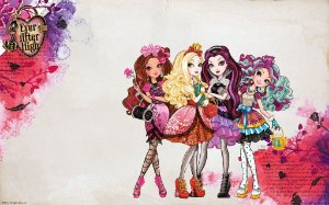 EVER AFTER HIGH 003 A4