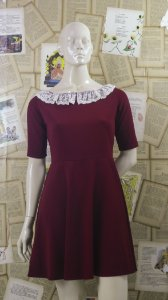 Vestido Romantic Red