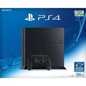 Console PS4 500GB + Controle Dualshock 4 - Sony