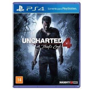Jogo Uncharted 4  A Thief's End PS4