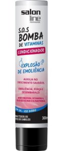 Condicionador SOS Bomba de Vitaminas Salon Line - 300ml