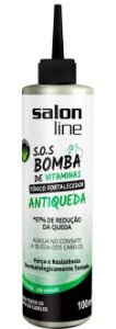Tônico Fortalecedor SOS Bomba de Vitaminas Salon Line - Antiqueda - 100ml