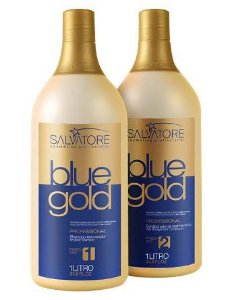 Salvatore Progressiva Blue Gold Sem Formol - 2x1000ml