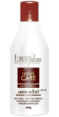 Home Care Leave-in Argan e Macadâmia Forever Liss - 300g