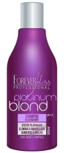 Platinum Blond Shampoo Matizador Blueberry Forever Liss - 300ml