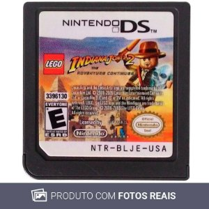 Jogo LEGO Indiana Jones 2: The Adventure Continues - DS [Europeu]