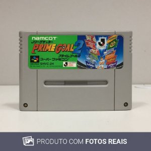 Jogo J.League Soccer: Prime Goal 2 - Super Famicom