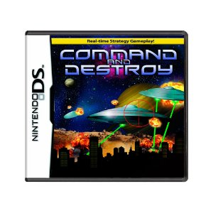 Jogo Command and Destroy - DS