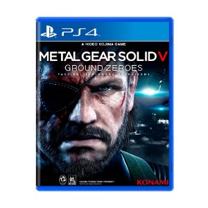 Jogo Metal Gear Solid V: Ground Zeroes - PS4