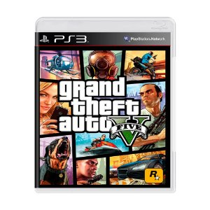 Jogo Grand Theft Auto V (GTA 5) - PS3