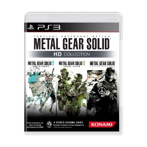 Jogo Metal Gear Solid: HD Collection - PS3