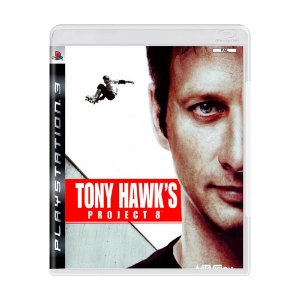Jogo Tony Hawk's Project 8 - PS3