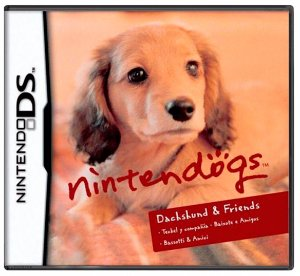 Jogo Nintendogs: Dachshund & Friends - DS
