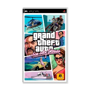 Jogo Grand Theft Auto: Vice City Stories (GTA) - PSP