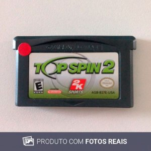 Jogo Top Spin 2 - GBA