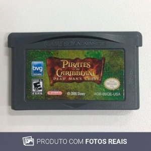 Jogo Pirates of The Caribbean - GBA