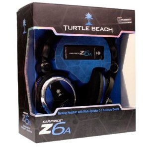 Headset Turtle Beach Ear Force Z6a com fio - PC