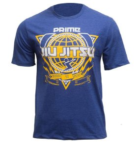 Camisa Prime World JJ Azul